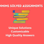 nmims assignments december 2021